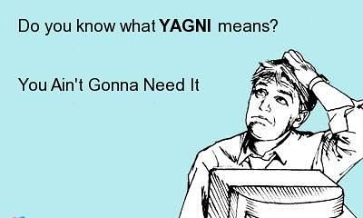 YAGNI meaning - what does YAGNI stand for?